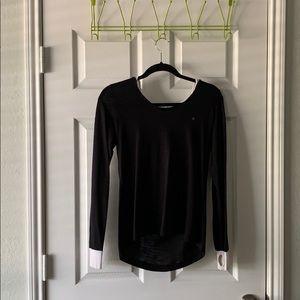 Calvin Klein long sleeve shirt with hood